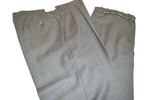New BRIONI Mod Delta Trouser 100%Wool Dress Pant Size 46 Us 62 Eu (Cod 42)