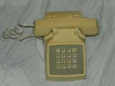 Vintage Classic Collectible AT&T 100 Brand Beige Push Button Telephone