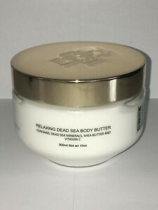 DEAD SEA MINERALS DEEP SEA RELAXING BODY BUTTER LAVENDER & CALENDULA 10 oz