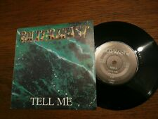 "POLTERGEIST Tell Me / Nothing Lasts Forever - 7"" Single - Haunted House ‎HH01"