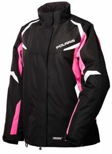 New OEM Polaris Women's NorthStar Jacket - Black/Pink, White/Black - L, XL, XXL