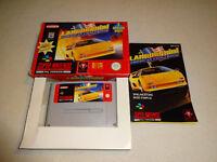 Lamborghini American Challenge SNES Spiel komplett mit OVP und Anleitung