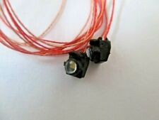 Rapido # 102082 Operating Ditch Lights 3 Volt DC Warm White LED 1 Pair  HO Scale