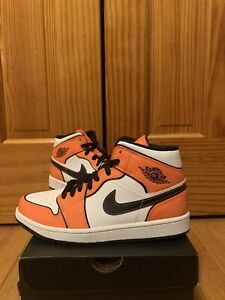 Brand New Air Jordan 1 Mid SE Turf Orange Men's Sizes 7.5-12