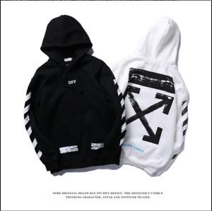 Off White Supreme Hoodie Virgil Abloh Pyrex Vision Street Wear Jumpe Sweatshirt