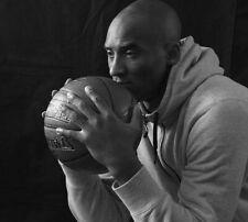Kobe Bryant LA Lakers 8x10 photo black white basketball