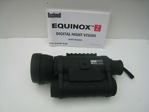 BUSHNELL Equinox Night Vision Monocular Still & Video Capture Digital 6x50
