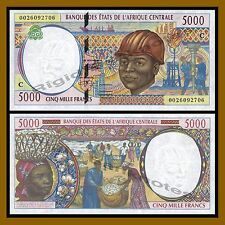 Central African States, Congo 5000 Francs, 2000 P-104Cf Unc
