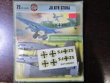 db5f4bbef9 MAQUETTE 1 72 VINTAGE AIRFIX 01011-3 JU.87B STUKA WWII AVION 1973