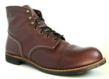 EXCELLENT Red Wing Heritage 8119 Oxblood Iron Ranger Leather Boots 14D 14 D