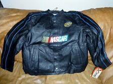 nascar car regular logo jacket uniform style adult xl refer to pictures leather