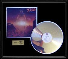 DIO RONNIE JAMES LAST IN LINE RARE GOLD RECORD PLATINUM  DISC LP ALBUM