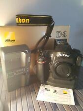 Nikon D4 16.2 Mpx Fotocamera Digitale DSLR (Body only) con 69.000 scatti - Nital