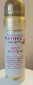 OGX Coconut Miracle Oil Dry Shampoo Extra Strength 1.75 oz Travel Sz