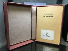 In The Frame By Dick Francis UK 1976 Uncorrected Proof In Box Rare first edition