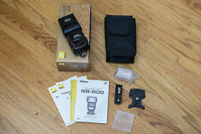 New ListingNikon Speedlight Sb-800 Shoe Mount Ttl Flash Very Clean in Box with Accessories