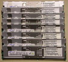 64GB (8x8GB) Samsung DDR2 PC2-5300G fully buffered 2Rx4 ECC registered SUN
