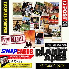 Planet of the Apes TV Series Tribute Cards. Complete 15 card set in sealed pack.