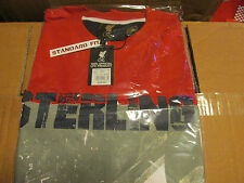 LIVERPOOL FOOTBALL CLUB LFC COLLECTORS T SHIRT RAHEEM STERLING 31 T SHIRT LARGE