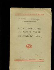 Busacca, Biomicroscopie du Corps Vitre et du Fond de L'oeil (Vol. II & III)
