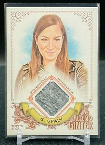 2021 Topps Allen Ginter Sarah Spain Used Patch ESPN