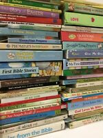 Lot of 20 Kids Christian Prayer Bible Jesus Stories Religion - MIX UNSORTED