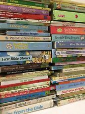 Lot of 20 Kids Christian Prayer Bible Jesus Stories Religion - MIX UNSORTED