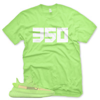 *GLOWS* 350 T Shirt for Adidas Yeezy Boost 350 v2 Glow In The Dark