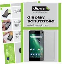 2x Nokia 2 Screen Protector Protection Anti Glare dipos