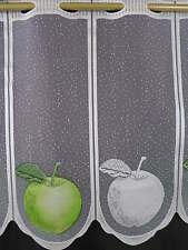 Scheibengardine Gardine Bistrogardine 736 45 cm hoch Apfel grün modern m/€ 9,00
