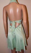 Satin Mini Dresses Backless