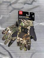 Under Armour UA ArmourFleece® Early Season Ridge Reaper® Camo Forest Hunt Gloves
