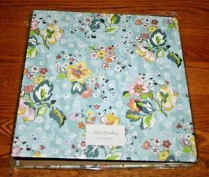 Vera Bradley Notebook 3 Ring Binder Floating Garden school office floral  NEW