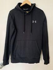 UNDER ARMOUR Black Sweatshirt Hoodie Size M