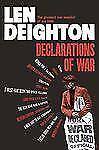 NEW - Declarations of War by Deighton, Len