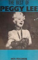The Best Of Peggy Lee Cassette.1981 MCA MCLC 632.Lover/Love Me Or Leave Me+