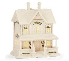 Lenox Holiday Village Llit Victorian House