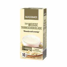 [10€/kg] Massimo Weisse Trinkschokolade Wundervoll Cremig! (100 Portionen) Veggi