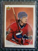 1991-92 Upper Deck  COLLECTOR'S CHOICE TEAM CHECKLIST Russ Courtnall Canadiens