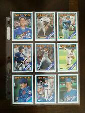 1988 Topps New York Mets Team Set 33 cards