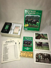 LET'S GO TO THE RACES-HORSE RACING GAME 1987 4-14 PLAYERS VHS PARKER BROTHERS