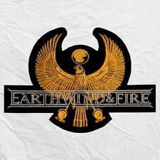 Earth Wind & Fire Logo Embroidered Big Patch Disco Maurice White Wade Flemons