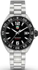 WAZ1110.BA0875 TAG Heuer Formula 1 Men's Stainless Steel Watch Quartz Black Dial