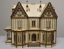 Kristiana Tudor 1:48 scale dollhouse Kit W/out shingles