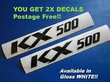 KX500 KXF GRAPHICS STICKERS