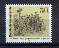 ALEMANIA BERLIN GERMANY 1982 MNH SC.9N473 Salzburg emigration to Prussia 250th