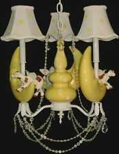 Baby Nursery Chandelier - Cow Over The Moon Nursery Rhyme Chandelier