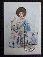 Andorra MK 1983 Christmas maximum carta carte MAXIMUM CARD MC cm c179