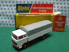 MERCEDES  BENZ  TRUCK / CAMION TELONATO CORY -   Dinky  Supertoys  940