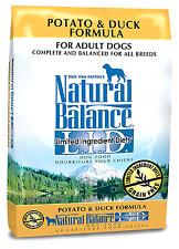 Natural Balance L.I.D. Limited Ingredient Diets Dry Dog Food, Potato & Duck Form